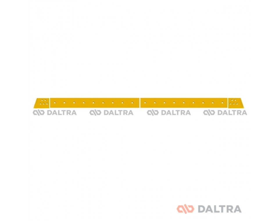 Komatsu D65EX-15 peilių komplektas (28 skylės)