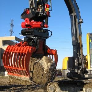 Žnyplės demontavimo ir rūšiavimo Robi DG15r