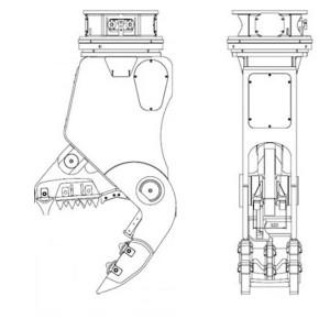 Hidraulinės žirklės RP32R